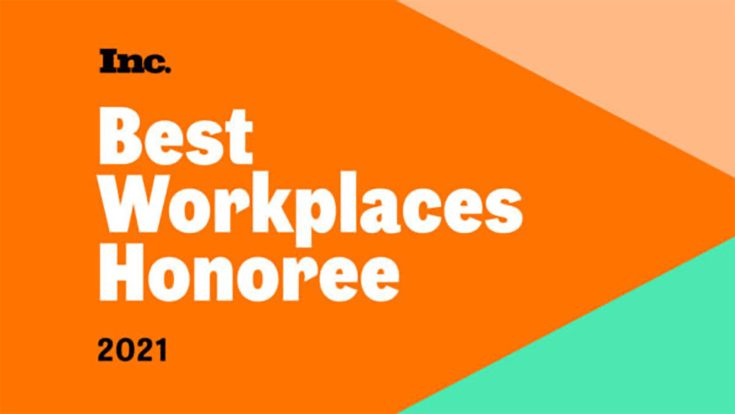 Inc's Best Workplaces of 2021